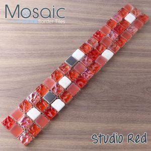 studio red mosaic